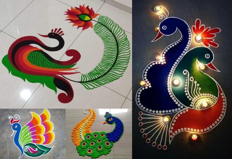 how to design rangoli patterns